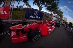 Car of Dario Franchitti, Target Chip Ganassi Racing Honda
