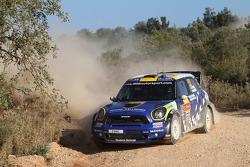 Patrik Sandell and Staffan Parmander, Mini John Cooper Works WRC, Prodrive MINI WRC TEAM