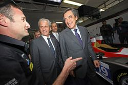 French Prime Minister François Fillon with Nicolas Minassian