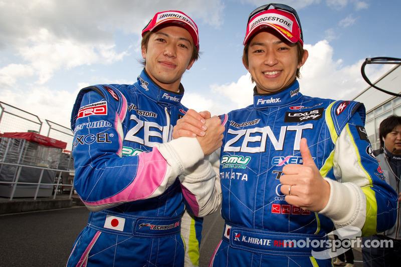 GT 500 polepositie voor Yuji Tachikawa en Kohei Hirate