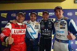 Yvan Muller, Chevrolet Cruze 1.6T, Chevrolet, Tom Coronel, BMW 320 TC, ROAL Motorsport and Pepe Oriola, SEAT León WTCC, Tuenti Racing Team