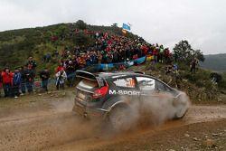 Dennis Kuipers en Robin Buysmans, Ford Fiesta RS WRC