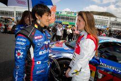 Tetsuya Yamano en Cyndie Allemann