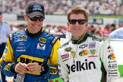 Matt Kenseth en Jamie McMurray