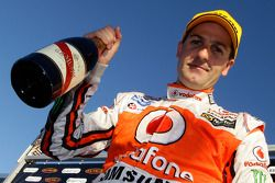 Race winner Jamie Whincup