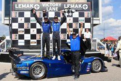 DP winners Antonio Garcia and Richard Westbrook