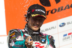 GT300 podium: third place Nobuteru Taniguchi