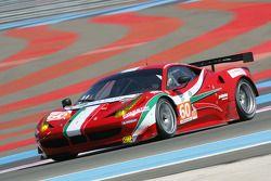 #60 AF Corse Ferrari 458 Italia, Piergiuseppe Perazzini, Marco Cioci, Matt Griffin