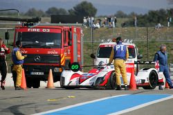 Penalty for #1 Greaves Motorsport Zytek Z11SN - Nissan: Alex Brundle, Lucas Ordonez, Tom Kimber-Smith