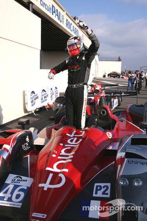 Race winner Pierre Thiriet