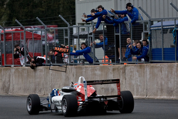 Jack Harvey wins the first race of the season