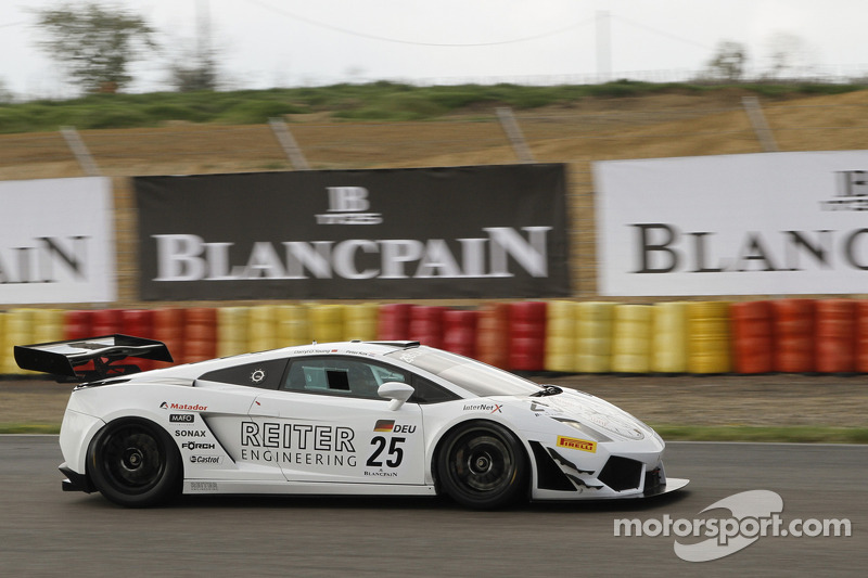 #25 Reiter Engineering Lamborghini Gallardo LP 600: Darryl O'Young, Peter Kox