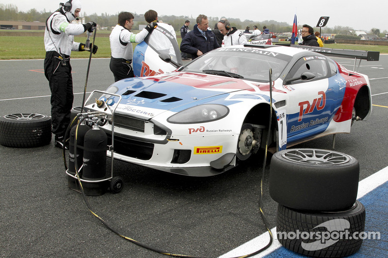 #7 Valmon Racing Team Russia Aston Martin DBRS9