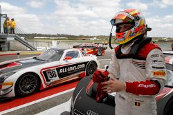 Race winner Laurens Vanthoor