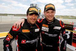 Third place Markus Winkelhock and Marc Basseng