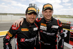 Derde plaats Markus Winkelhock en Marc Basseng