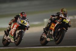 Alvaro Bautista, Honda Gresini, et Stefan Bradl, LCR Honda MotoGP