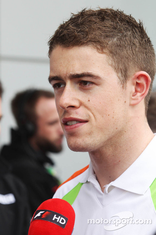 Paul di Resta, Sahara Force India F1 met de media