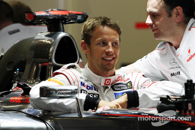 Jenson Button, McLaren Mercedes MP4/27