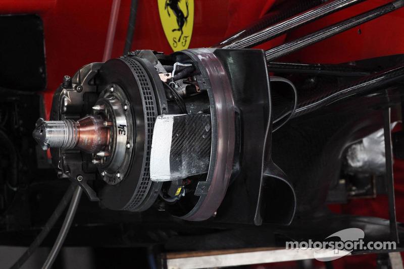 Ferrari F2012 remmen