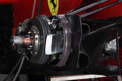 Ferrari F2012 brake detail