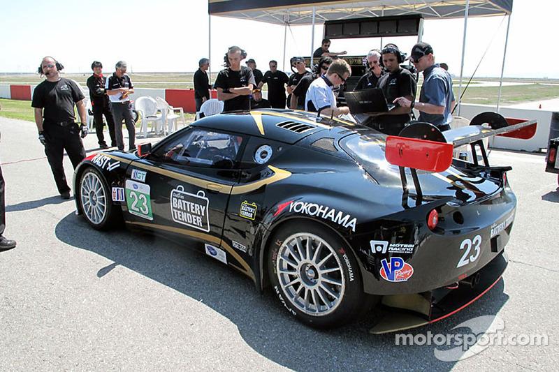 Alex Job Racing test Lotus Evora GTE