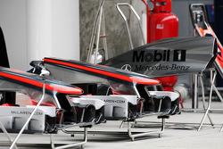 McLaren front wings