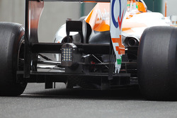 Nico Hulkenberg, Sahara Force India F1 rear diffuser detail