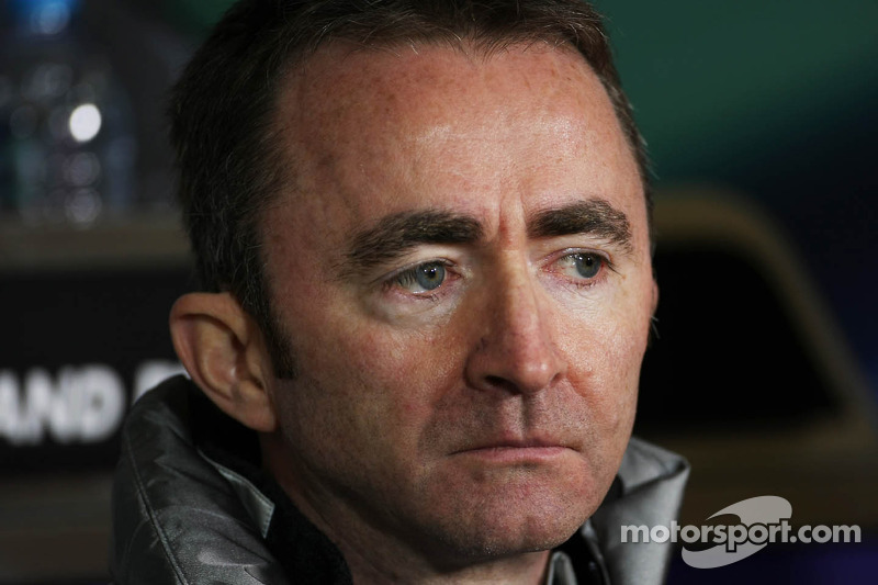 Paddy Lowe, McLaren Mercedes Technical Director in the FIA Press Conference