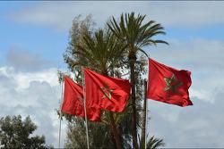 Drapeaux du Maroc