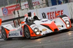 #7 Merchant Services Racing Oreca FLM09: James Kovacic, Tony Burgess