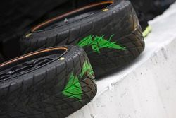 Rain tires at the ready