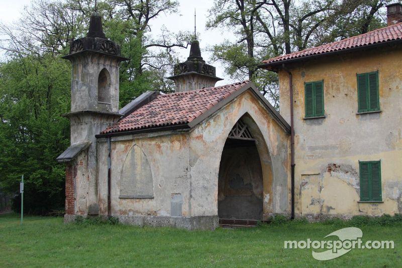 Landhuis in het Monza Park