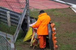Marshal reading newspaper