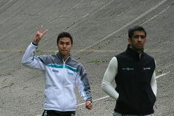 Jazeman Jaafar and Fahmi Ilyas