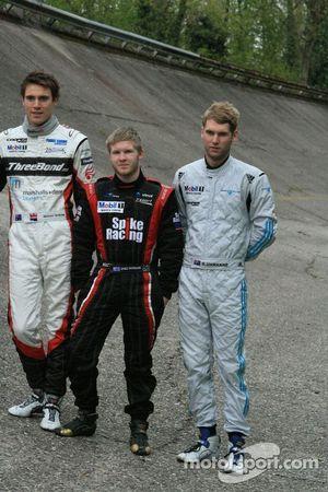 Nick McBride, Spike Goddard and Geoff Uhrhane