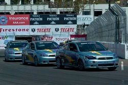 Toyota Pro/Celebrity Race won by comedian Adam Carolla