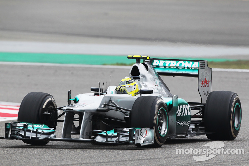 Mercedes, 2012: 93 pontos, uma vitória, 9º no campeonato