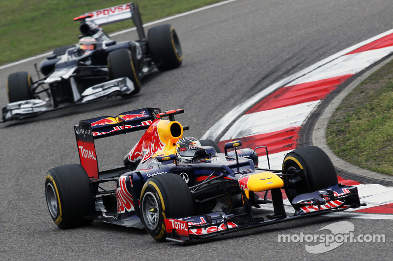 Sebastian Vettel, Red Bull Racing ve Pastor Maldonado, Williams