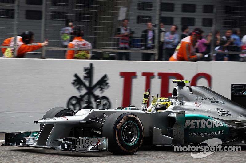 5. Нико Росберг, Гран При Китая 2012 (111-я гонка)