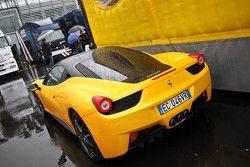 Van wie is deze Ferrari 458 Italia?