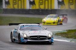#90 Preci-Spark Mercedes-Benz SLS AMG GT3: David Jones, Godfrey Jones, Mike Jordan