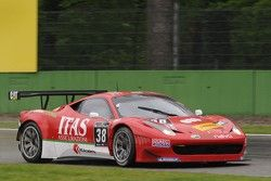 #38 Scuderia Vittoria Ferrari 458 Italia: Jay Palmer, Alessandro Bonetti, Michael Lyons