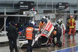 #91 J.A.S. Motorsport McLaren MP4-12C GT3: Akira Iida, Jun San Chen, Morris Chen