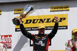 Round 4 Race Winner Mat Jackson