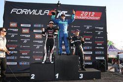 Podium: winner Justin Pawlak, second place Daijiro Yoshihara and third place Daigo Saito