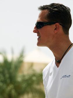Михаэль Шумахер. ГП Бахрейна, Четверг.