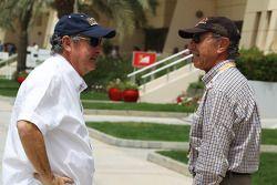 Nick Mason, with Jo Ramirez