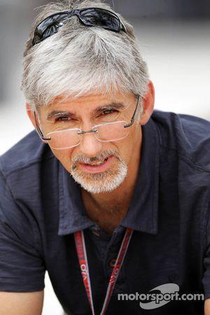 Деймон Хилл. ГП Бахрейна, Вторая пятничная тренировка.