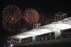 Fireworks over the circuit